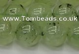CPR316 15.5 inches 16mm round natural prehnite gemstone beads