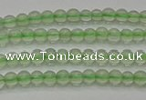 CPR320 15.5 inches 3mm round natural prehnite gemstone beads