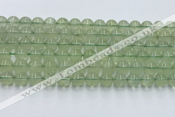 CPR372 15.5 inches 10mm round prehnite gemstone beads