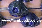 CPY828 15.5 inches 12*14*14mm skull pyrite gemstone beads