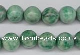 CQJ205 15.5 inches 12mm round Qinghai jade beads wholesale