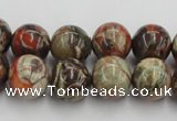 CRA152 15.5 inches 12mm round rainforest agate beads wholesale