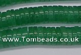 CRB1032 15.5 inches 2*6mm heishi green aventurine beads wholesale