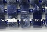 CRB1073 15.5 inches 5*8mm - 6*8mm faceted tyre sodalite beads