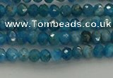 CRB1203 15.5 inches 3*4mm faceted rondelle apatite beads