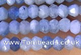 CRB2222 15.5 inches 2*3mm faceted rondelle aquamarine beads