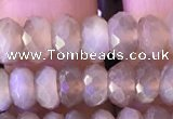 CRB2283 15.5 inches 4*7mm faceted rondelle moonstone beads