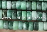 CRB2562 15.5 inches 2*4mm heishi Qinghai jade beads wholesale
