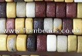 CRB2574 15.5 inches 2*4mm heishi mookaite beads wholesale
