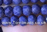 CRB2645 15.5 inches 3*4mm faceted rondelle sapphire gemstone beads