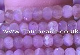 CRB3107 15.5 inches 2*3mm faceted rondelle tiny moonstone beads