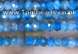 CRB3118 15.5 inches 2*3mm faceted rondelle tiny apatite beads
