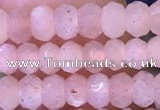 CRB3142 15.5 inches 2.5*4mm faceted rondelle tiny moonstone beads