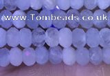 CRB3154 15.5 inches 2.5*4mm faceted rondelle tiny aquamarine beads