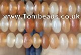 CRB4003 15.5 inches 2.5*4.5mm rondelle red aventurine beads wholesale