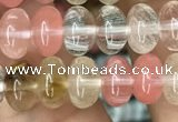 CRB4079 15.5 inches 5*8mm rondelle volcano cherry quartz beads wholesale