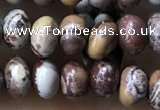CRB5312 15.5 inches 4*6mm rondelle artistic jasper beads