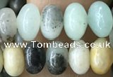 CRB5315 15.5 inches 4*6mm rondelle amazonite beads wholesale