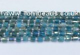 CRB5600 15.5 inches 5mm - 6mm faceted tyre apatite beads
