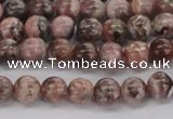 CRC901 15.5 inches 6mm round natural rhodochrosite beads