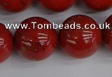 CRE318 15.5 inches 20mm round red jasper beads wholesale