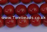 CRE324 15.5 inches 12mm round red jasper beads wholesale
