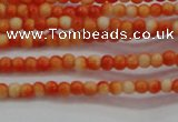 CRF425 15.5 inches 2mm round dyed rain flower stone beads wholesale