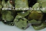 CRH21 15.5 inches 15*15mm rhombic rhyolite beads wholesale