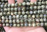 CRH562 15.5 inches 8mm round rhyolite beads wholesale