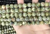 CRH573 15.5 inches 10mm round rhyolite gemstone beads wholesale