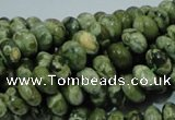 CRH95 15.5 inches 5*8mm rondelle rhyolite beads wholesale