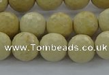 CRI214 15.5 inches 12mm faceted round riverstone beads wholesale