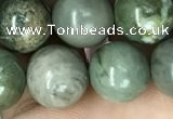 CRM203 15.5 inches 10mm round green mud jasper beads wholesale