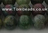 CRO1114 15.5 inches 12mm round ruby apatrite beads wholesale