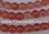 CRO157 15.5 inches 8mm round cherry quartz beads wholesale