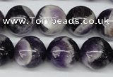 CRO425 15.5 inches 16mm round dogtooth amethyst beads wholesale