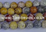 CRO861 15.5 inches 6mm round sky eye stone beads wholesale