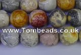 CRO863 15.5 inches 10mm round sky eye stone beads wholesale