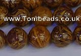 CRO884 15.5 inches 12mm round elephant blood stone beads