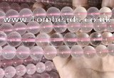CRQ442 15.5 inches 12mm round rose quartz beads wholesale