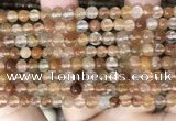 CRU943 15.5 inches 5mm round mixed rutilated quartz beads