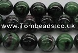 CRZ04 15.5 inches 12mm round ruby zoisite gemstone beads Wholesale