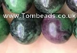 CRZ775 15.5 inches 14mm round ruby zoisite beads wholesale