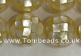 CSB4040 15.5 inches 16mm ball abalone shell beads wholesale