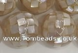 CSB4050 15.5 inches 18mm ball abalone shell beads wholesale