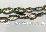 CSB4178 15.5 inches 12*28mm - 15*30mm freeform abalone shell beads
