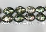 CSB4180 15.5 inches 48*58mm - 50*60mm freeform abalone shell beads