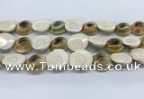 CSB4501 15.5 inches 22*25mm freeform shell beads wholesale