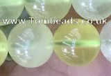 CSJ322 15.5 inches 12mm round serpentine new jade beads