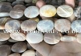 CSS416 15.5 inches 18*25mm oval sunstone beads wholesale